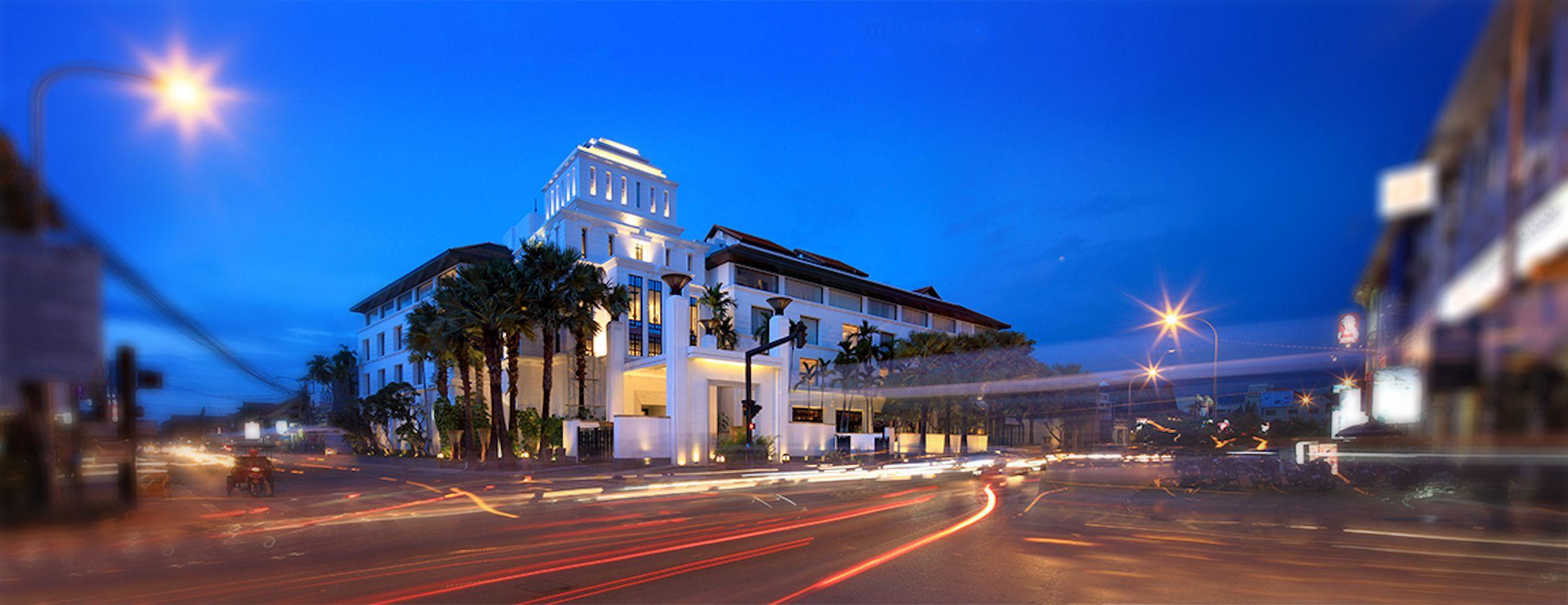 柬埔寨金边酒店服务员