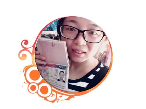 美国互惠生;Amy Wang